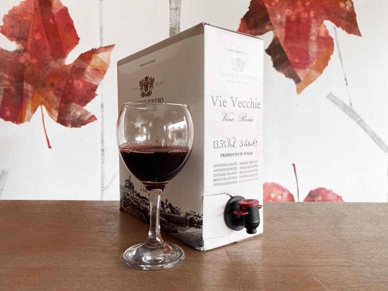 Vino Sfuso in Bag in box Bulk Wine Monza